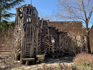 Things on the grounds outside the Jim Rouse Visionary Center