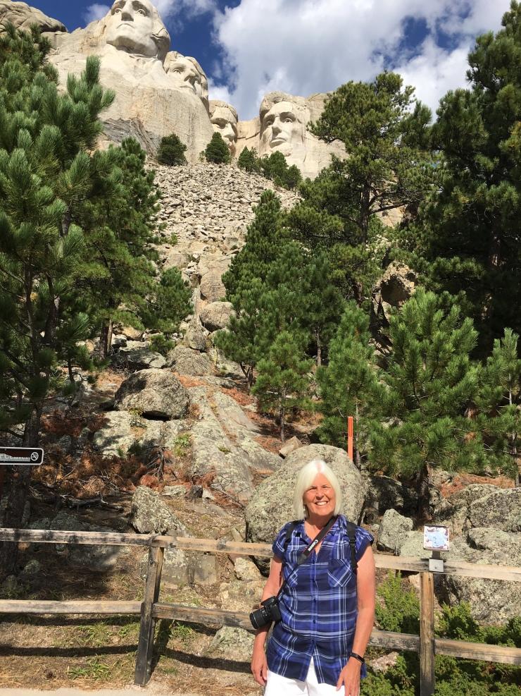 me at Mt. Rushmore National Memorial
