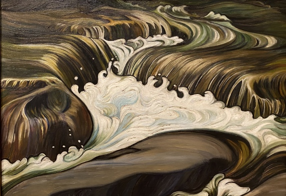 Whirlpool, 1925, by Grace Turnbull