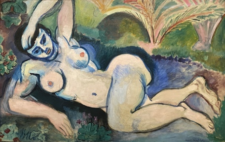 Blue Nude, 1907, by Henri Matisse
