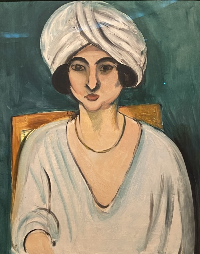 Woman in Turban (Lorette), Early 1917, by Henri Matisse