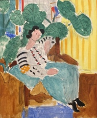Small Rumanian Blouse with Foliage, 1937, by Henri Matisse
