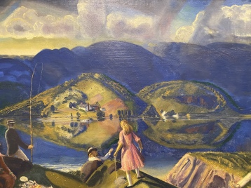 The Picnic, c. 1924 by George Wesley Bellows
