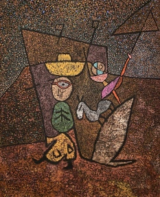 Traveling Circus, 1937, by Paul Klee