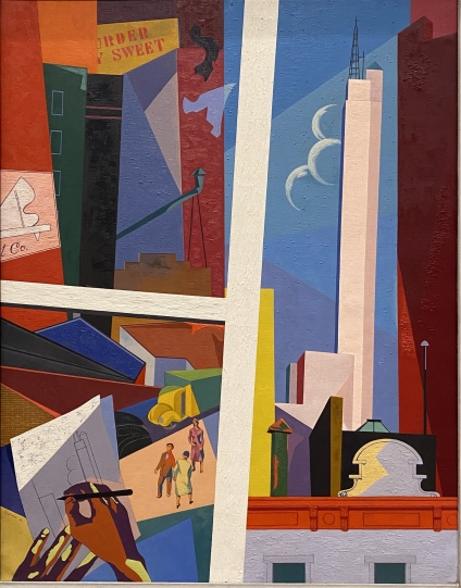 The City and I, 1946, by O. Louis Guglielmi