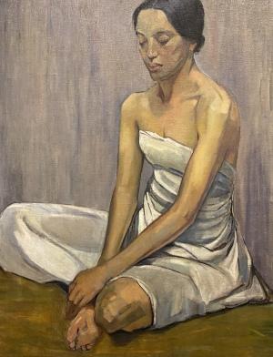 Meditation, c. 1937, by Maria Hamel FInkelstein
