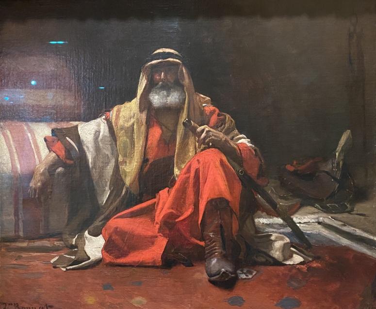 An Arab Sheik, ca. 1870 by Léon Bonnat