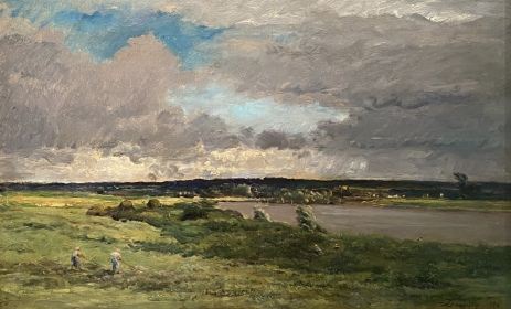 The Coming Storm, 1865-75 by Charles François Daubigny