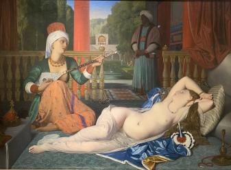 Odalisque with Slave, 1842 by Jean-Auguste-Dominique Ingres