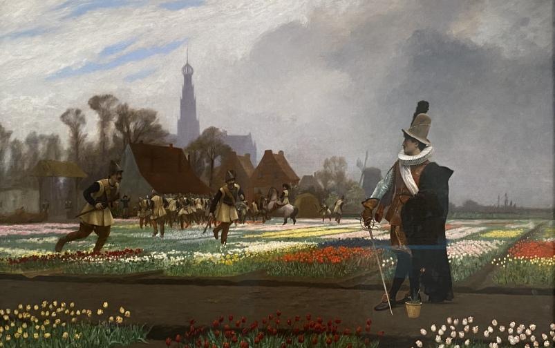 The Tulip Folly, 1882 by Jean-Léon Gérôme