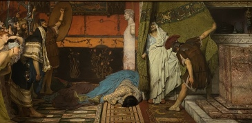 A Roman Emperor: AD 41, 1871 by Sir Lawrence Alma-Tadema