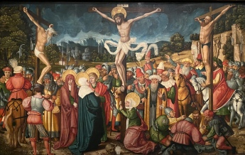 The Crucifixion, 1537 by Peter Gärtner