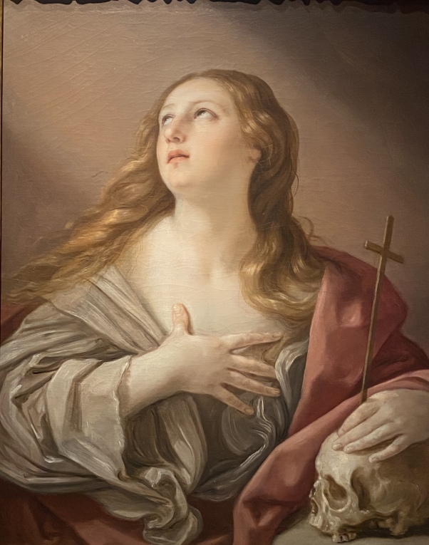 The Penitent Magdalene, ca. 1635 by Guido Reni