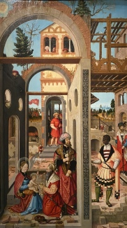 Adoration of the Kings, 1526 by William Stetter, German