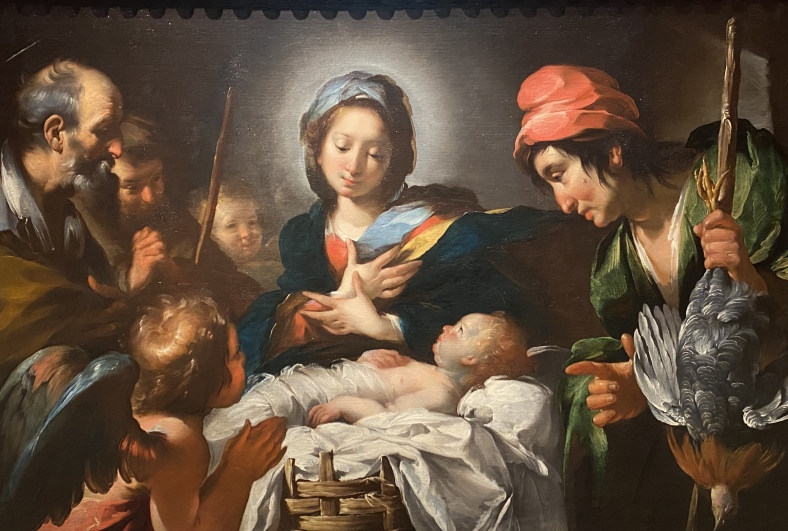 The Adoration of the Sepherds, ca. 1615 by Bernardo Strozzi