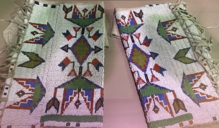 Beadwork and quillwork
