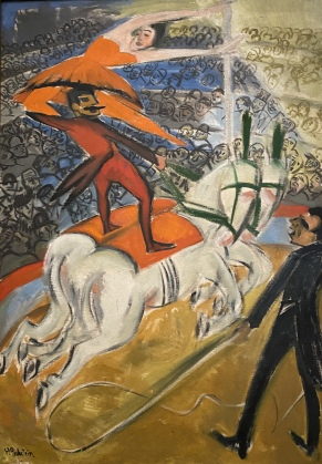 The Circus, 1920, by Max Pechstein
