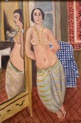 Standing Odalisque Reflected in a Mirror, 1923, by Henri Matisse