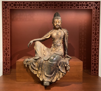 Water-Moon Guanyin, 15th century, Ming dynasty (1368-1644)