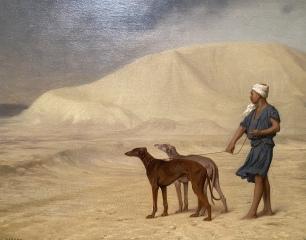 On the Desert, before 1867 by Jean-Léon Gérôme
