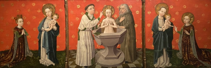 Scenes from the Life of Saint Catherine of Alexandria, ca. 1430-50, German (Swabia)
