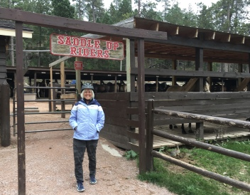 Me at Blue Bell Lodge Stables
