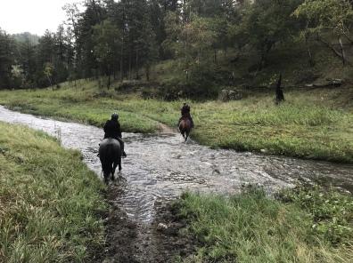 crossing French Creek