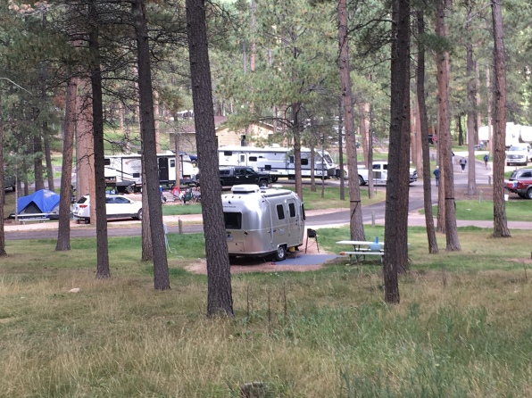 campground at Custer State Park