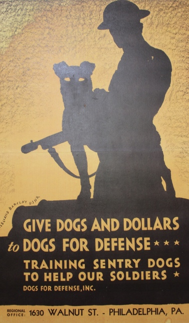 Give dogs and dollars for defense...