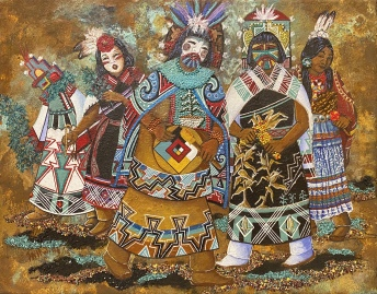 Guardian Spirits, 2019 by Judy Tallwing