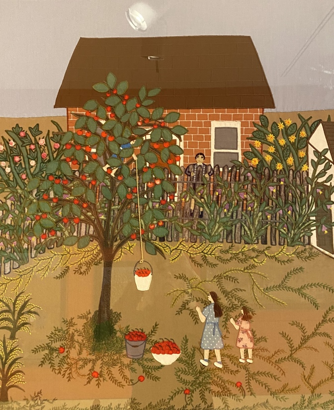 Picking Cherries, 1996 by Esther Krinitz