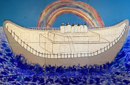 Noah and the Rainbow Sign, 1994 by Reverend Albert Wagner