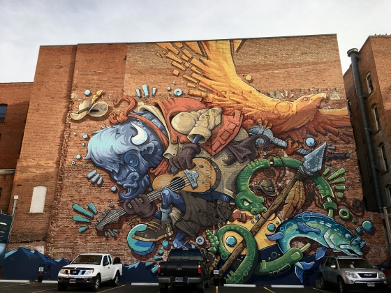 Cheyenne mural