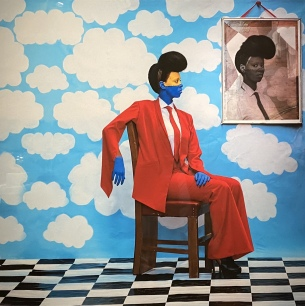 Sai Mado (The Distant Gaze), 2016 by Aida Muluneh (Ethiopia)