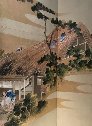 Country Scenes and Mount Fuji, Japan, Edo period ca. 1830-32 by Hokusai