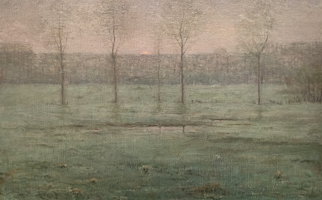 painting, 1893 by Dwight William Tryon (1849-1925)