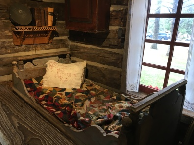 furnishings in the log cabin