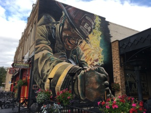 mural at 1915 Rapid City Fire Department