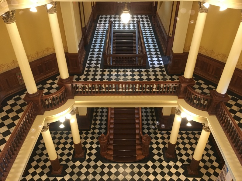 Wyoming State Capitol interior