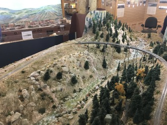 model train at the Cheyenne Depot Museum