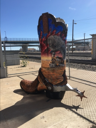 """Memories of the Old West"" boot by Cody Hamil"