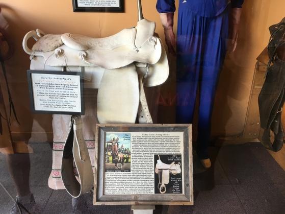 Dorothy Satterfield's 1936 Mens Trick Saddle