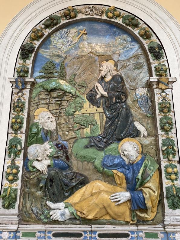 The Agony in the Garden of Gethsemane, ca. 1525-35 by Santi Buglioni, workshop of