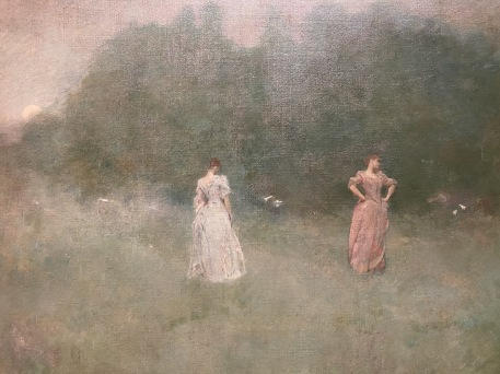 After Sunset, 1892 by Thomas Wilmer Dewing