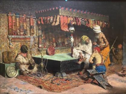 The Slipper Merchant, 1872 by José Villegas Cordero