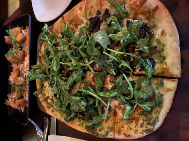 Flatbread at Circa