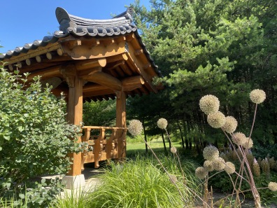 the Korean Garden at Meadowlark