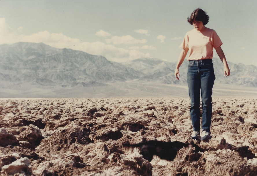 me at Death Valley National Park, CA