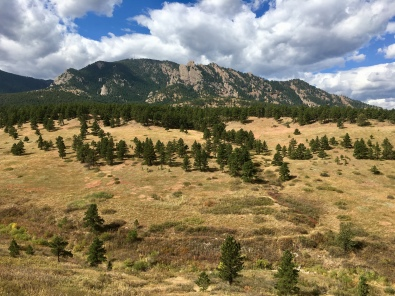 Flatirons Vista hike in Colorado