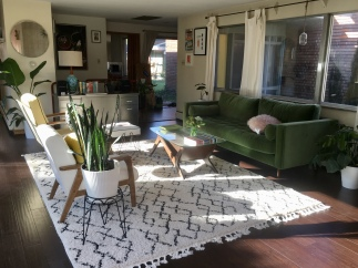 My sister's living room